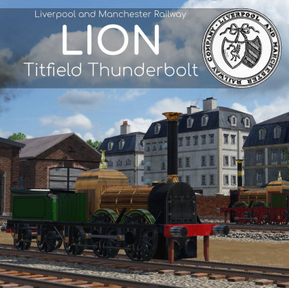 L&MR 'Lion' & Titfield 'Thunderbolt'