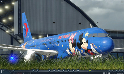 China Eastern Airbus A320 (Disney Livery)