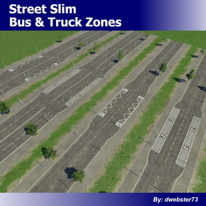 Street Slim Bus & Truck Zones