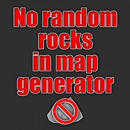 No random rocks in map-generator