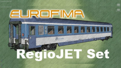 Eurofima Coaches, ČD/RegioJet Set