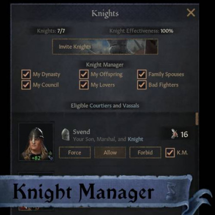 Knight Manager