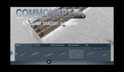 CommonAPI2 - Modular rail station adapter
