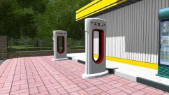 Tesla Supercharger 0