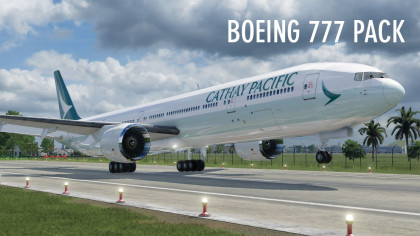 Boeing 777 Pack by MJ1989C