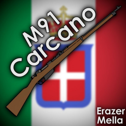 [WW2 Collection] Carcano mini pack (remake)