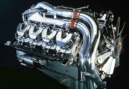Scania V8 Open Pipe Next Stage IV