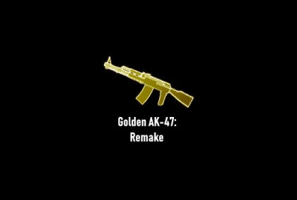 Golden AK-47 Remake