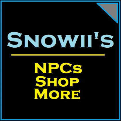 Snowii's NPCs Shop More