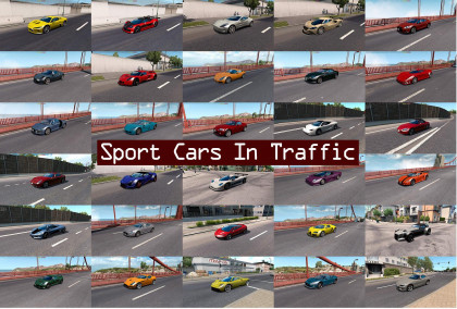 Sport Cars Traffic Pack