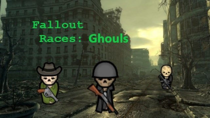 Fallout Races: Playable Ghoul Compatible