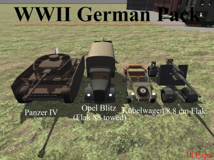 WWII German Pack