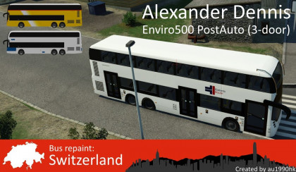 ADL Enviro500MMC 3-Door - Switzerland