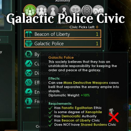 Galactic Police Civic