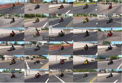 Motorcycle Traffic Pack