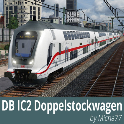 DB IC2 double-deck coaches
