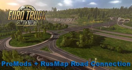 ProMods + RusMap Road Connection