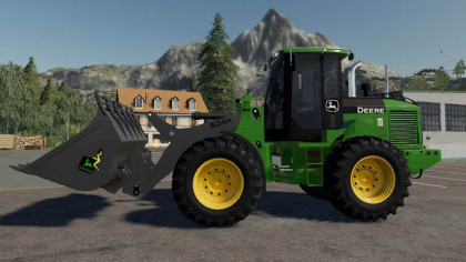 John Deere 524K Wheel Loader & Shovel
