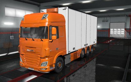 Rigid chassis pack for all SCS trucks