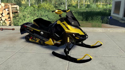 Skidoo Snowmobile