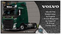 "VOLVO FH4 ""R-Group"" Combo Skin 0"