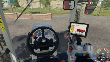 New Holland T7 Extended Hud
