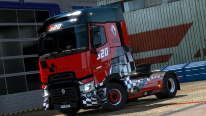 Renault Range T Limited Editions skin