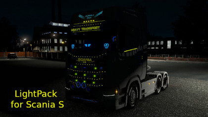 Light Pack for Scania S