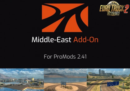 ProMods Middle-East Add-On