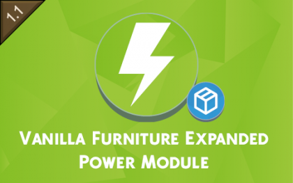 Vanilla Furniture Expanded - Power