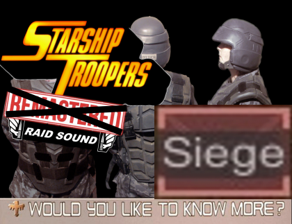 Starship Troopers Raid Sound