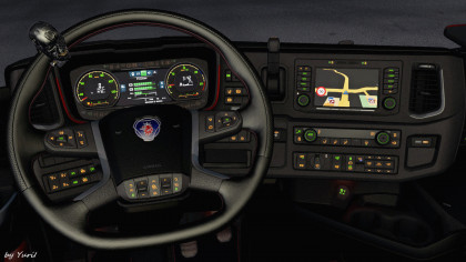 Dashboard light Scania S/R Pack