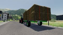 Homemade Bale Trailer 3